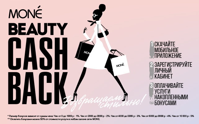 Beauty Cash Back